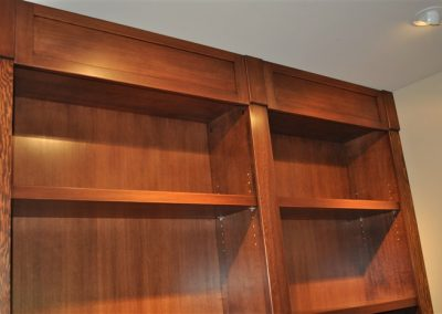 Grant - wall unit detail - cabinetry