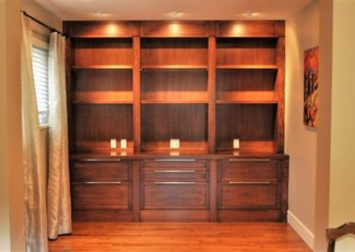 Grant - wall unit frontal - cabinetry