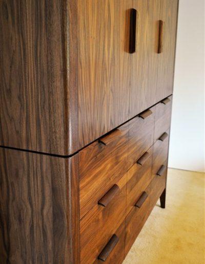 MacNeil/Kent armoire detail-custom furniture