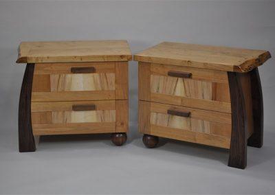 Nanoose -bedside cabinets