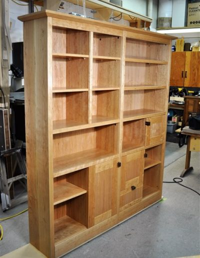 Orchard - bookcase wall unit - custom furniture