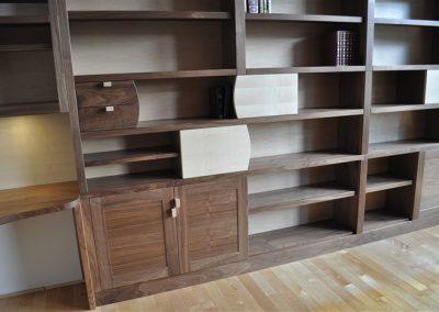 dennis unit-close up / custom cabinets