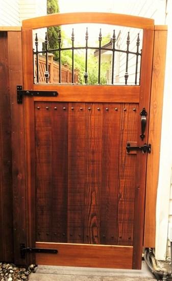 garden gate - custom woodwork