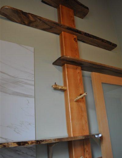 heath bathroom shelves2-custom cabinet