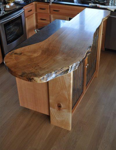 heath island top-over-custom woodwork