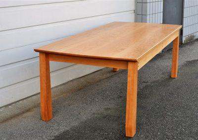 sim dining table-top view-custom furniture