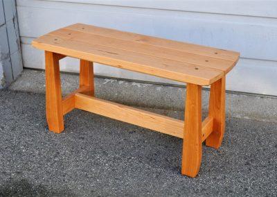 sim hallway bench-custom furniture-front