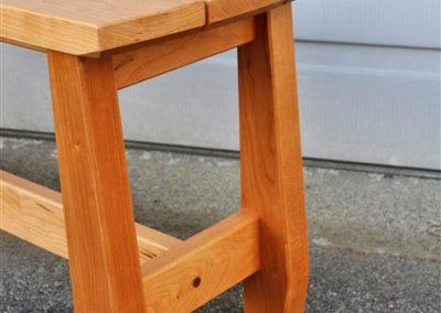 sim hallway bench-detail-custom furniture